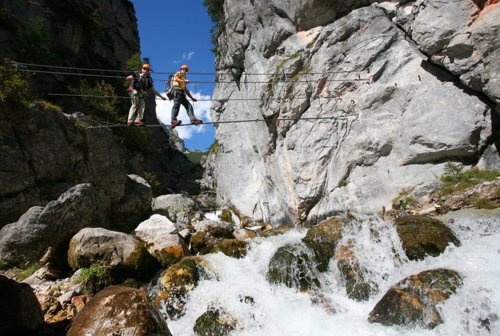 Klettersteig Ramsau : Klettersteigschein in ramsau blitzschulung für anfänger spiegel