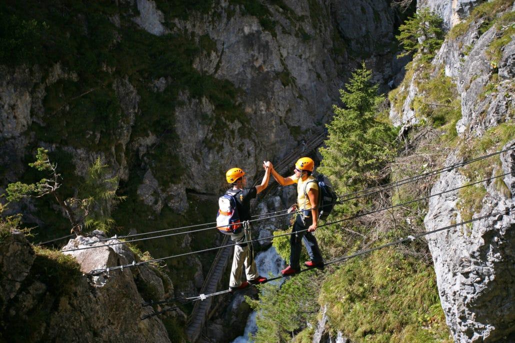 Klettersteig Ramsau : Ramsau am dachstein frienerhof